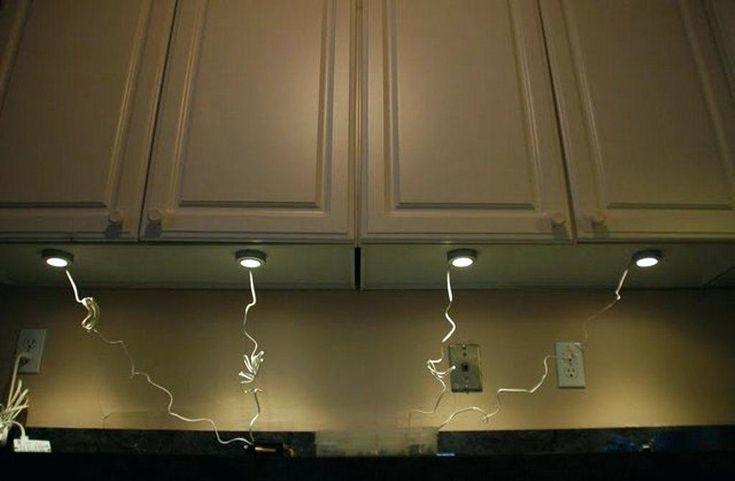 hard wire cabinet lighting under