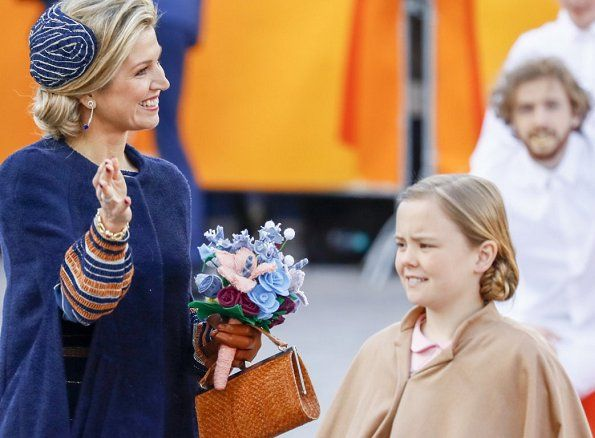 Dutch Royals attend King's Day 2017 celebration in Tilburg