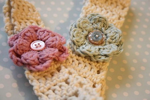 Little Girl Head Band***so cute and free pattern!!! Thanks for share!!**