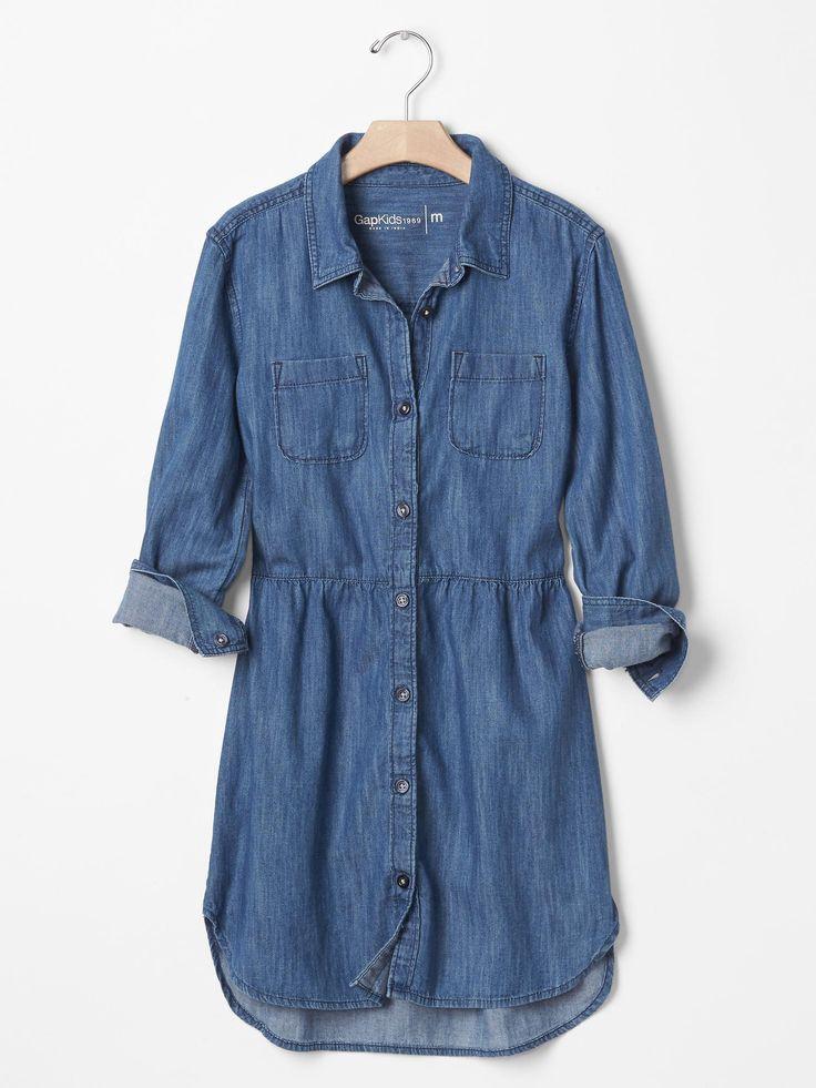 1969 denim shirtdress | Gap
