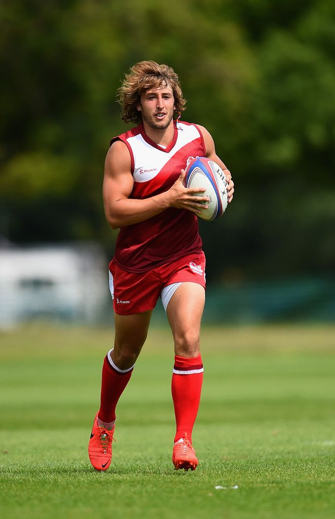 Dan Bibby in action during the England Sevens Squad Announcement for the…