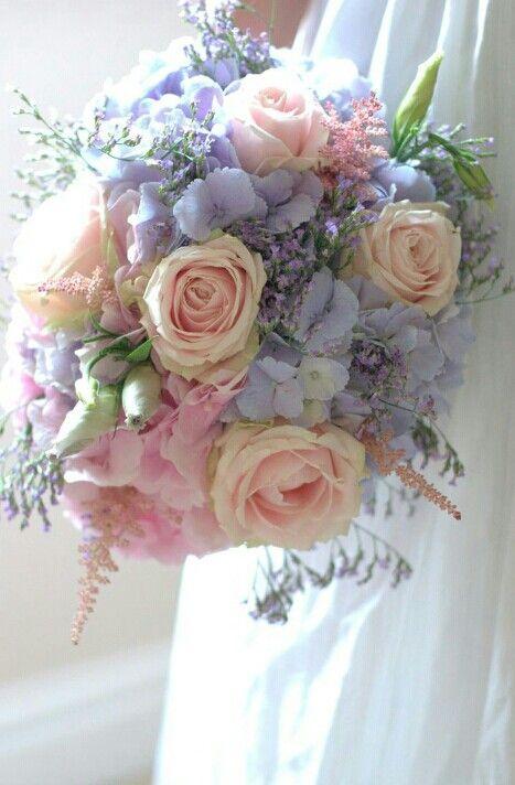 Spring wild flower #bridal #bouquet