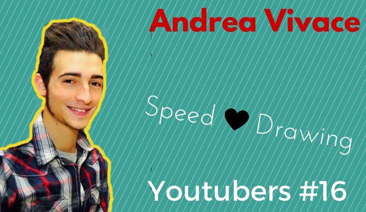 Andrea Vivace #speedart #youtuber #andreavivace