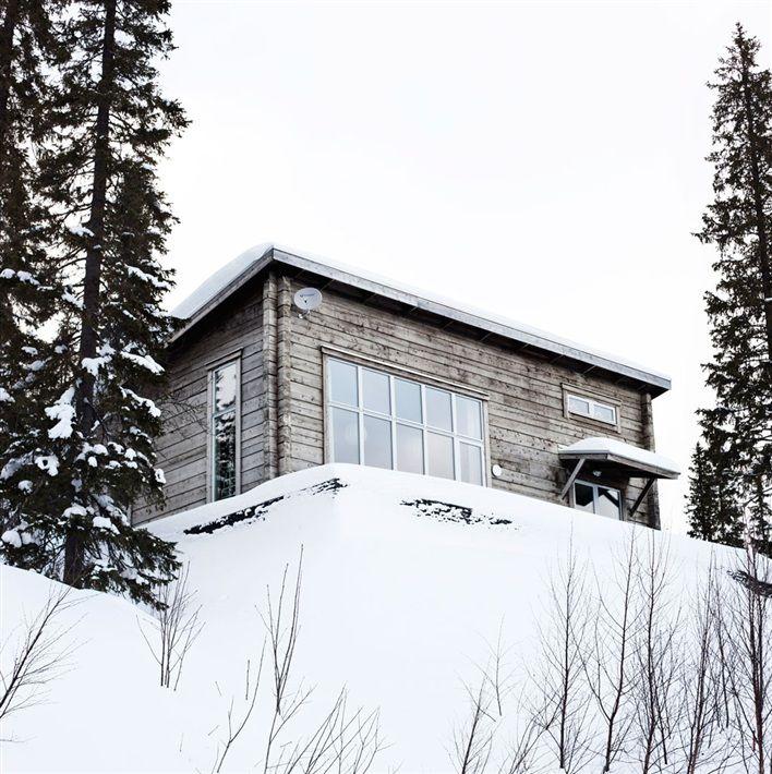 Interior & Design + Some More...: Ett modernt timmerhus på 92kvm i Bydalen