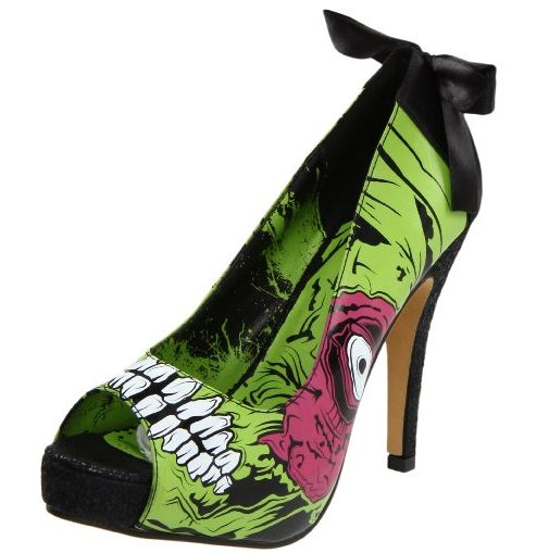 """I first discovered these Iron Fist Women's Zombie Stomper Platform Pumps over on the GeekAlerts.com website, where their writers usually blog about geeky gadgets and Geek Shirts and other geeky stuff. Now I wouldn't consider these frightful pumps to be """"geeky"""" per se, but actually more scary! I personally wouldn't be caught dead in the …"""