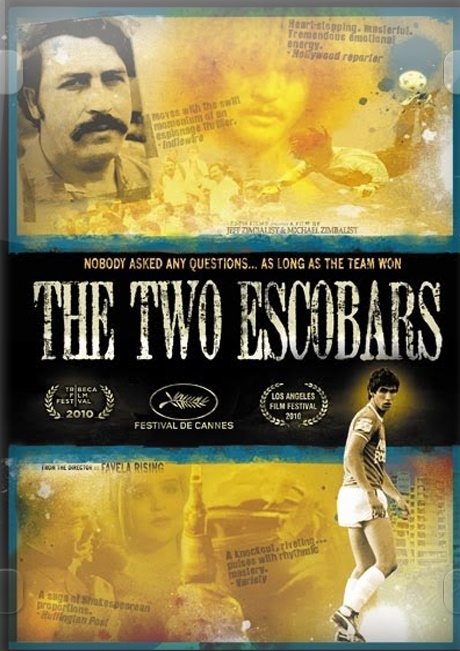 Very intense and interesting true story. The rise of Colombian soccer is attributed to the influx of drug money into the sport by Pablo Escobar and the other drug cartels. However, the team's swift decline after Escobar's death results in the murder of star player Andres Escobar.