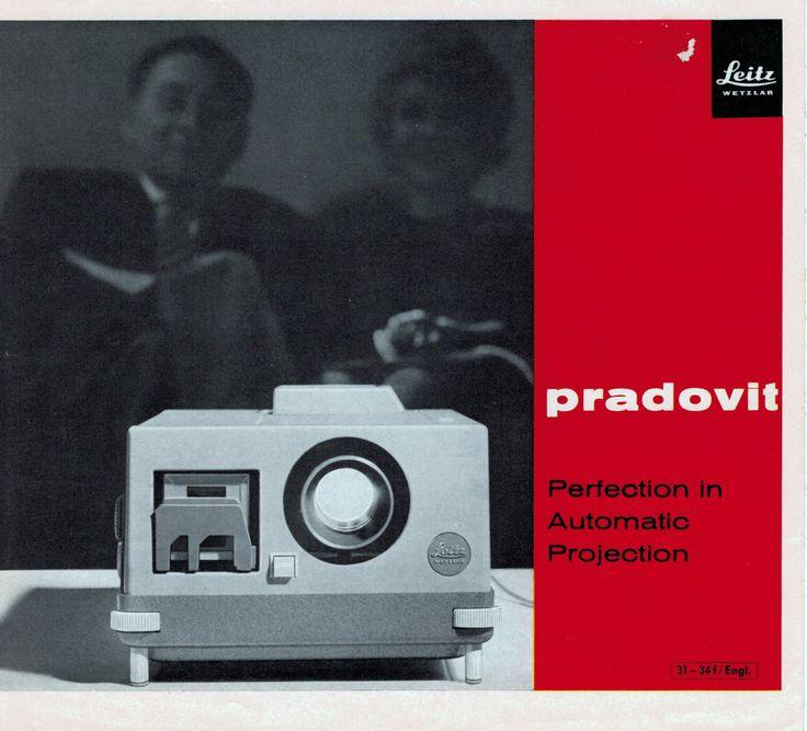 Leitz Pradovit Projector Sales Brochure 1964 n12 n24 FA300 FA500