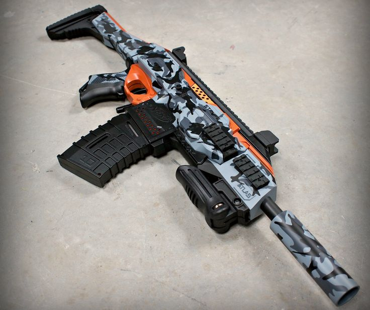 Nerf Stryfe Evo Scorpion Urban Crisis by JLCustomsCreations