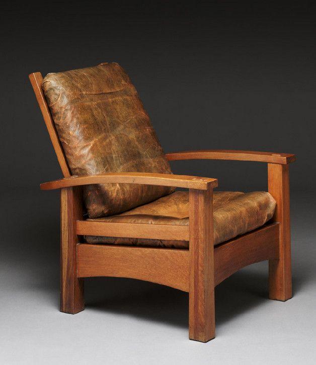 Gustav Stickley Reclining chair No. 2340 (No. 336)                                                                                                                                                                                 More