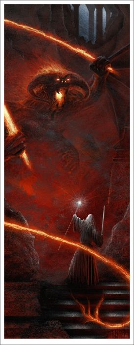Amazing first of three LOTR prints, again, from Comic-Con.  So many awesome posters!  :(  This is amazing, from Fellowship of the Ring.    Mondo: The Archive | JC Richard - The Lord of the Rings: The Fellowship of the Ring, 2012