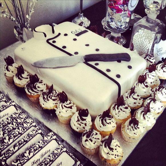 Chef B day cake for Danny Happy Birthday Pinterest