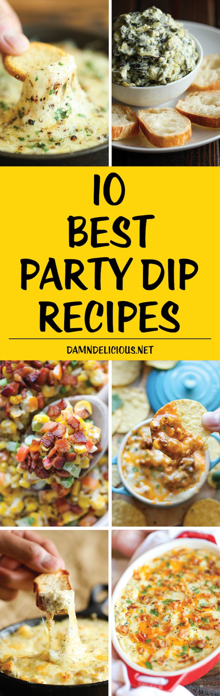 10 Best Party Dip Recipes FoodBlogs.com