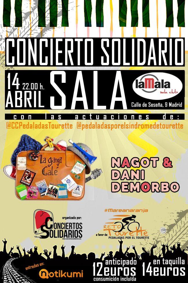 Concierto Solidario Por El Tourette Concierto Cantautores El Rock And Roll