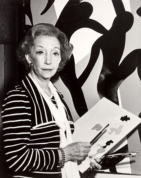 Florence Broadhurst (1899-1977)  is considered one of the most significant designers Australia has ever. During the 20's she travelled and ran a finishing school in Shanghai. Always changing her appearance and even name.