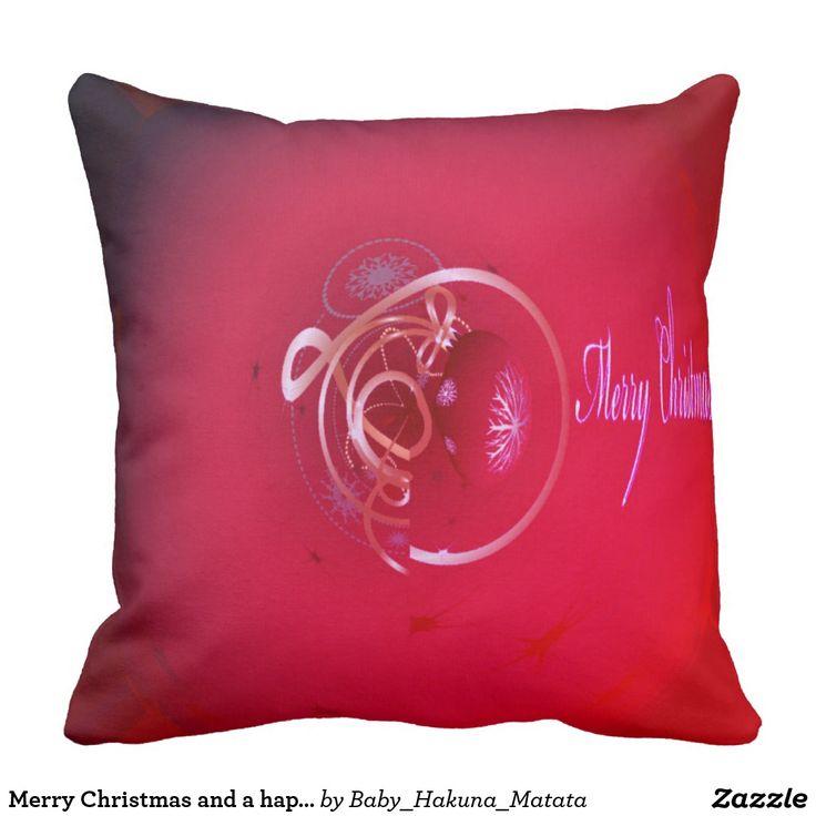 Feliz Natal e pessoas de um feliz ano novo  #Hakuna Matata #Design vazio bonito engraçado bonito do logotipo #almofada para ambientes externos