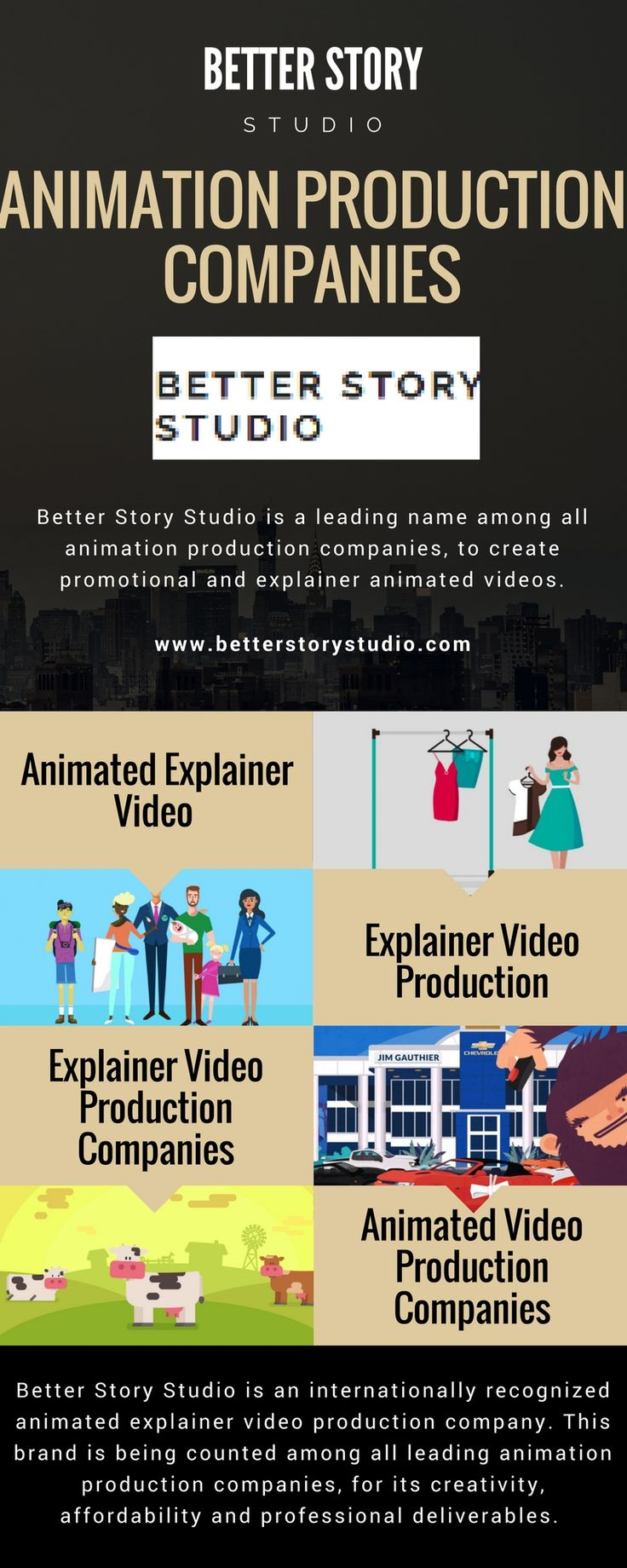 Better Story Studio gives you the best package for creating #animated #explainer #video, to promote your business, products or services. Start with this creative advertisement program.visit @http://betterstorystudio.com  #Animated #Explainer #Video