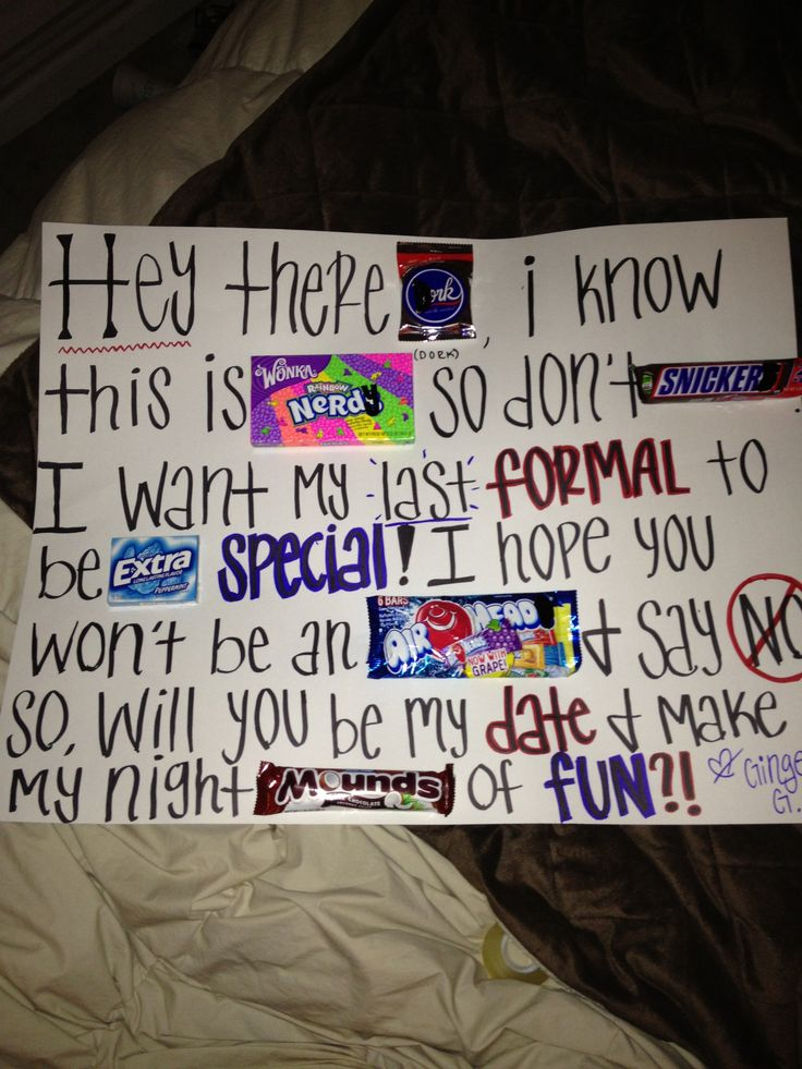 How to ask a girl to prom you arent dating