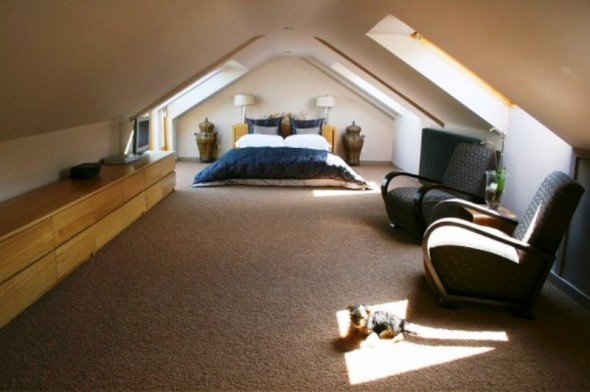 Loft room is back on the cards for the future in hopes of for Utilizing attic space