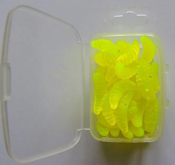 Umelé kostné červy (Žlté)