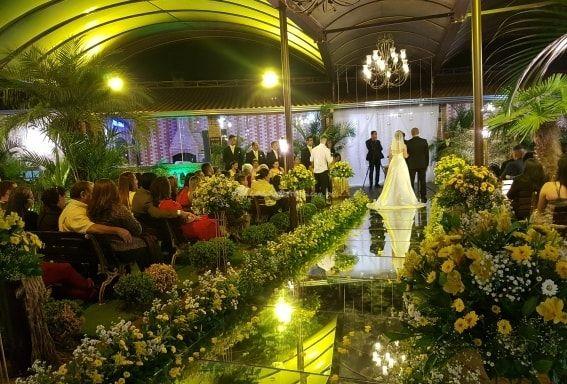 Espaço cerimônia de Recanto do Beija Flor Eventos