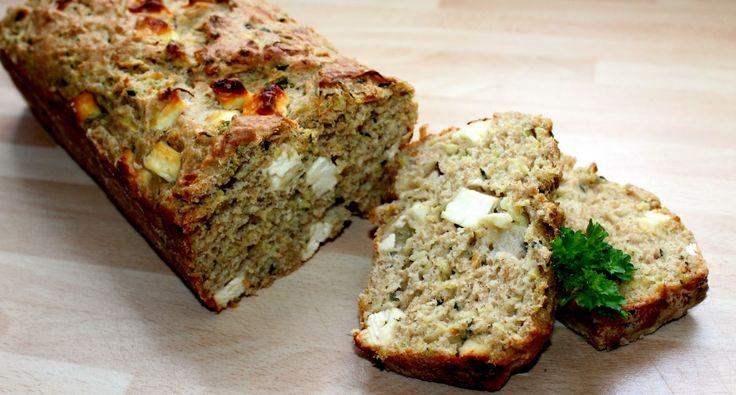 Cukkinis-fetás kenyér recept | APRÓSÉF.HU - receptek képekkel