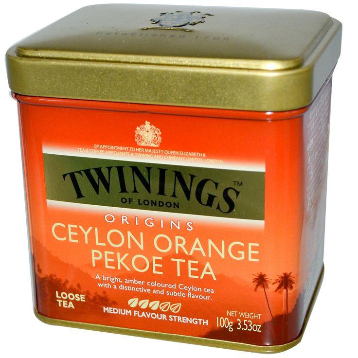 Twinings, Origins, Ceylon Orange Pekoe Loose Tea, 3.53 oz (100 g)