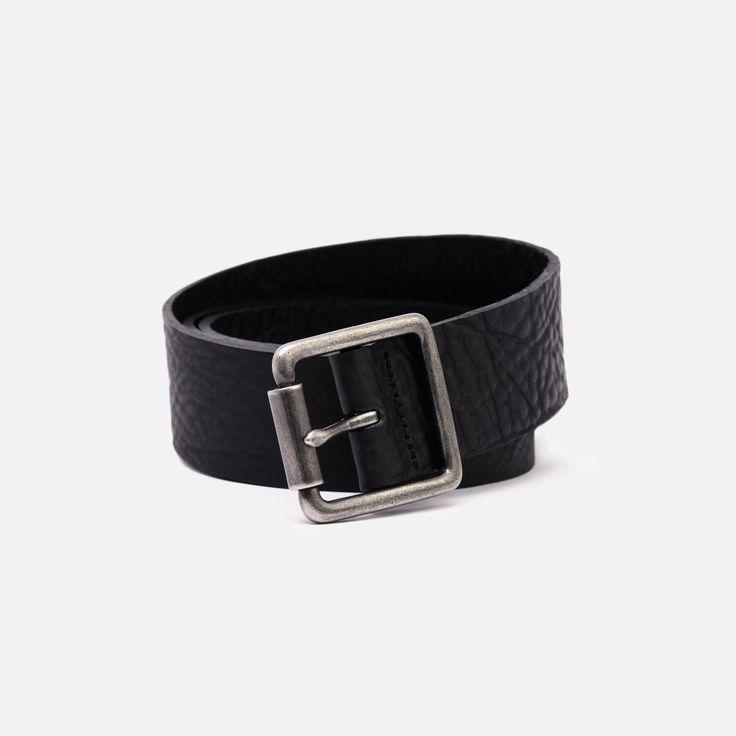The British Belt Co. - Tumbled Leather - Black