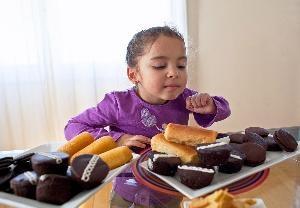 Homemade Hostess cupcakes, Oreos, and Twinkies.