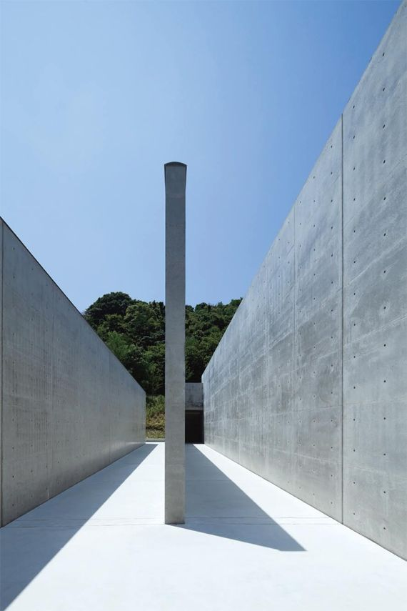 Lee U-Fan Museum, Naoshima Contemporary Art Island by Tadao Ando Architect