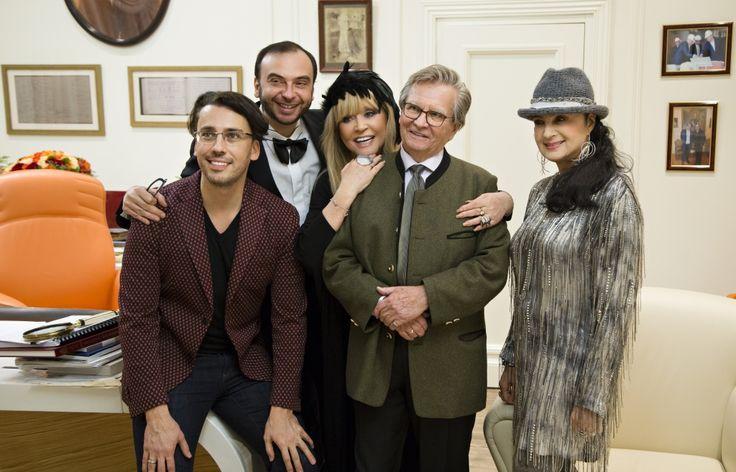 Восточный Новый Год звезды встретили на премьере оперы ДжакомоПуччини «Турандот» в театре «Геликон-опера».