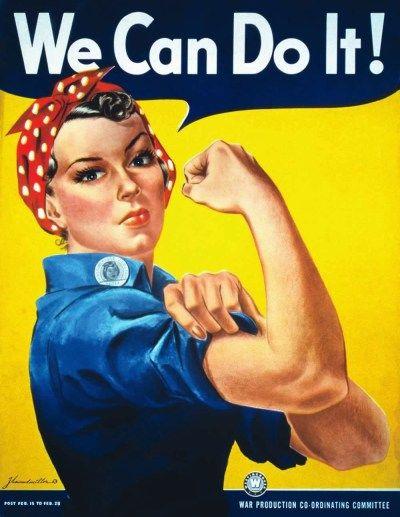 Howard Miller, We can do it!