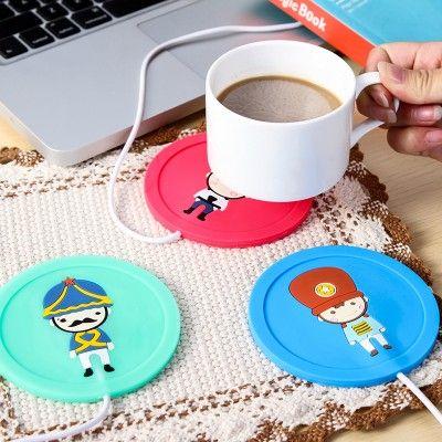 Tatakan Penghangat Gelas – USB Cup Warmer Rp 55.000