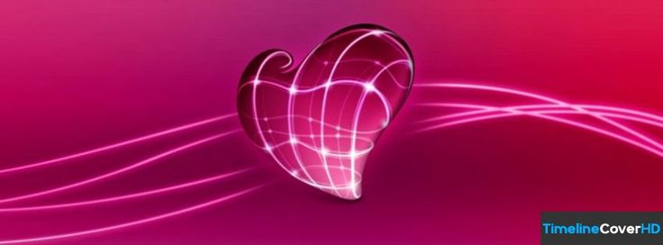 3d Love Heart Facebook Timeline Cover Facebook Covers ...