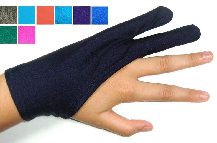 Left / Right Hand Glove for Drawings, Graphics, Cartoonists & Writers  HandMade #Handmade #DrawingGlove