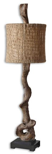 29163-1 Driftwood Buffet Lamp, Contemporary Driftwood Tropical Lamp or Rustic Lamp by Uttermost with Free Shipping and Discount Prices.