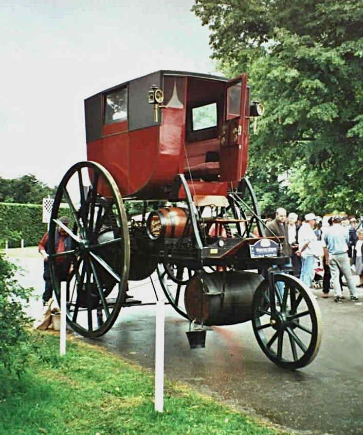 London Steam Carriage seen here at Goodwood.