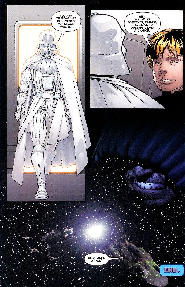 Redeemed Anakin White Armor Vader From Star Wars
