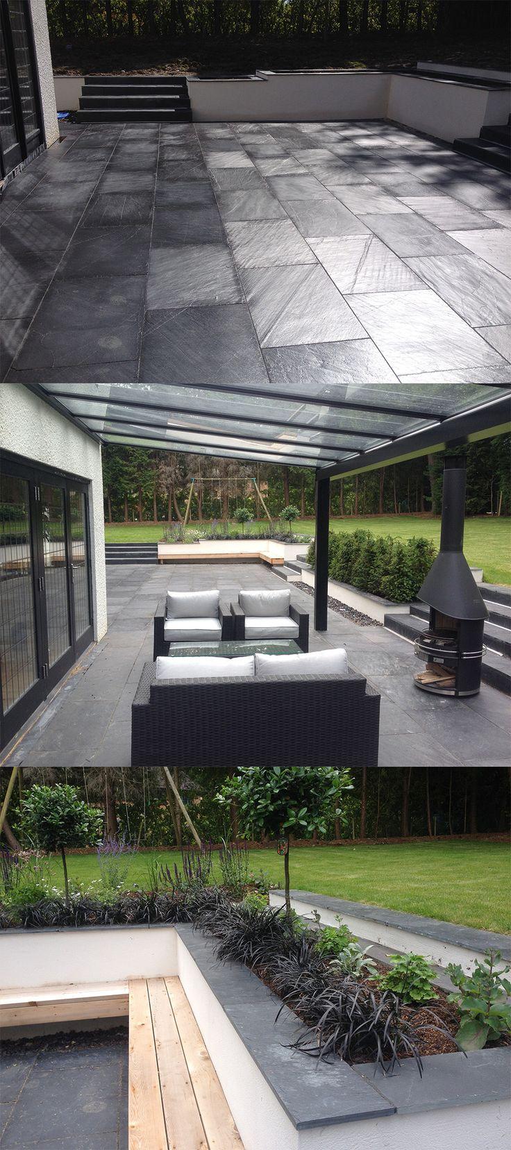 slate patio ideas