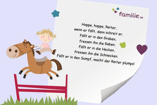 Hoppe, hoppe, Reiter #kniereitervers #kindergarten #erzieher #erzieherin #malen #kita #krippe #gedicht #baby