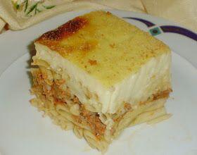 Αλμυρές συνταγές, Μακαρόνια, Κιμάς, Μοσχαρίσιο κρέας, Παστίτσιο, Σάλτσες, Μπεσαμέλ,