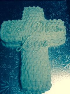 Cross First Communion / Baptism / Christening Cake