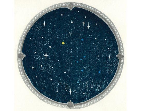 星空 版画 - Google 検索