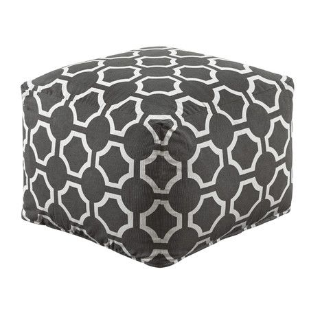 Features:Geometric poufSquare shapeTraditional styleDesign: PoufStyle: Traditional