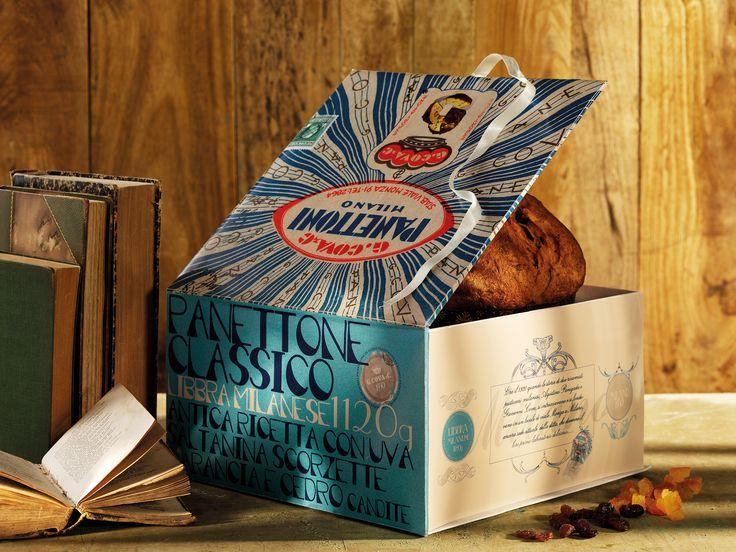 "Panettone Classico Libbra Milanese 1120 g. Scatola Regalo  Traditional Panettone ""Milanese Pounds"" 1120 g. Gift Box"