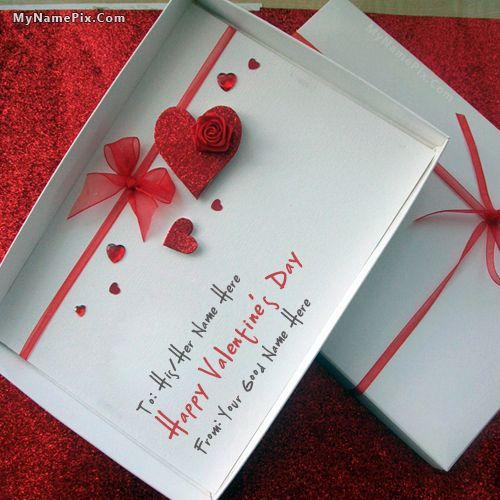 get your name in beautiful style on happy valentine day picture you can write your - Valentines Names