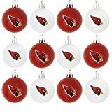 NFL Ball Ornament (Set of 12) NFL Team: Arizona Cardinals