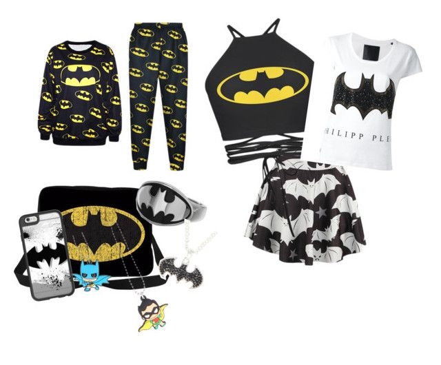 """""""Batman"""" by russell-mina on Polyvore featuring Casetify and Philipp Plein"""