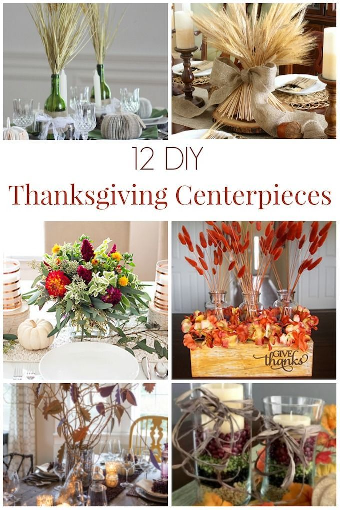 Here are12 Beautiful DIY Thanksgiving Centerpieces to decorate our tables with when sharing our bounty with our loved ones this month! | thanksgiving centerpiece decor | thanksgiving home decor ideas | decorating for thanksgiving | centerpiece ideas for thanksgiving || Design Dazzle #thanksgivingdecor #thanksgiving #thanksgivingcenterpiece #holidaydecor