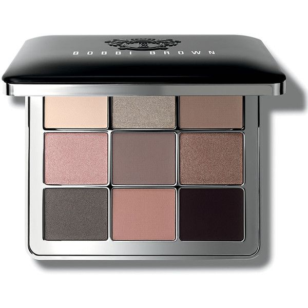 Bobbi Brown Luxe Nudes Eye Palette found on Polyvore featuring beauty products, makeup, eye makeup, eyeshadow, palette eyeshadow and bobbi brown cosmetics