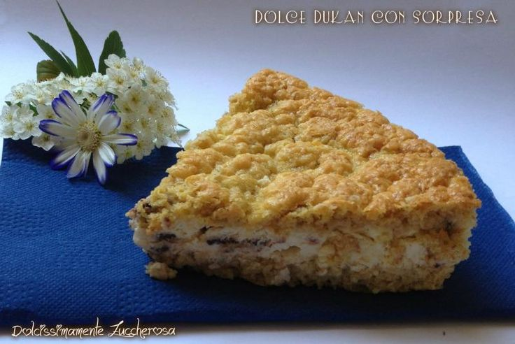 Dolce Dukan con sorpresa ricetta light dieta